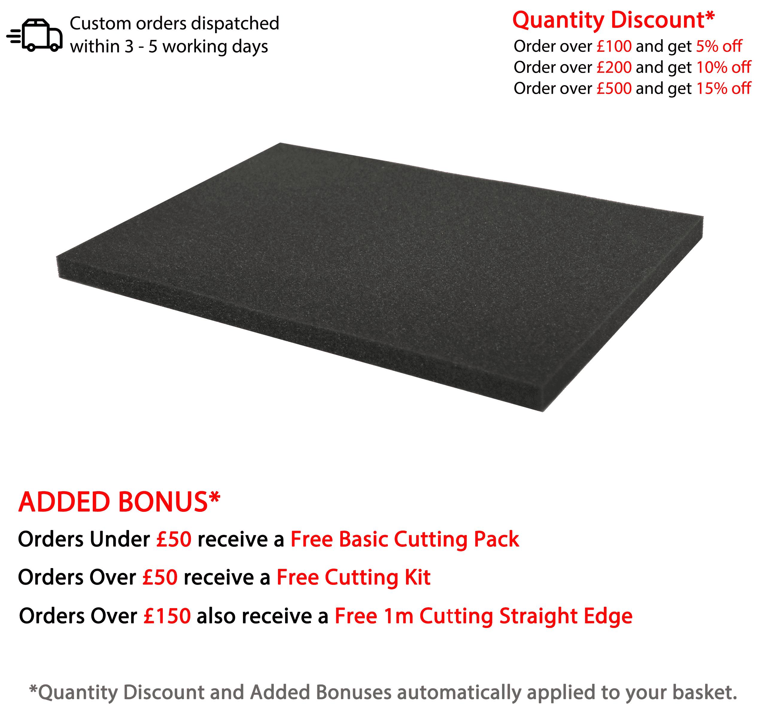 20mm Grey Foam Sheet