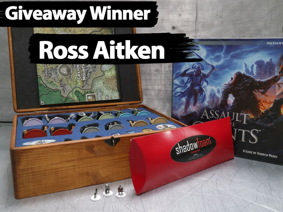 DND Giveaway Winner