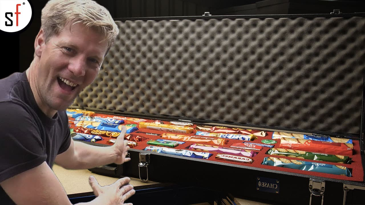 Colin Furze with Biscuits