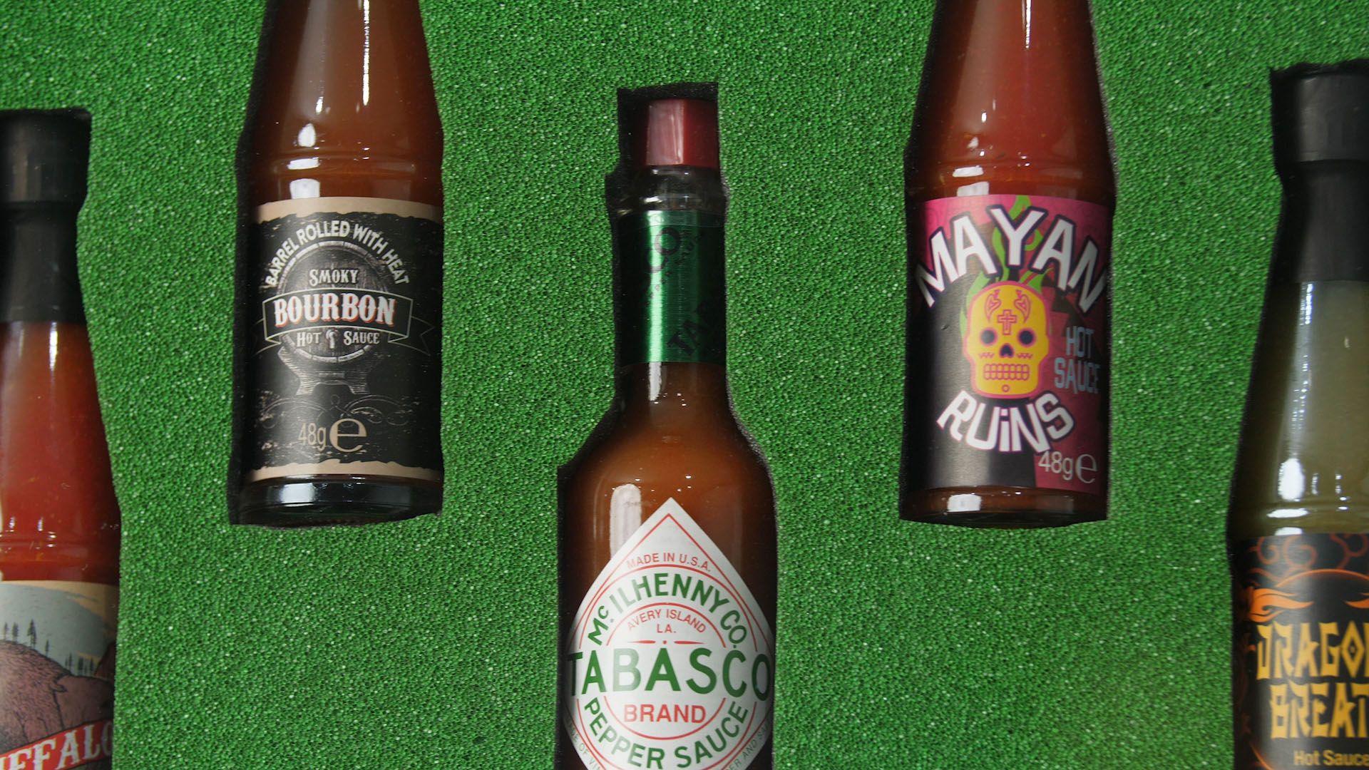 Hot Sauce Cabinet