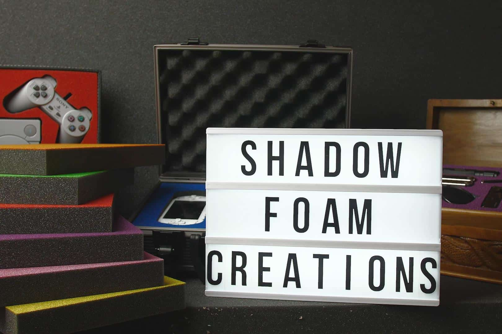 Shadow Foam Creations Lightbox