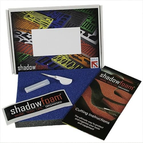 Shadow Foam cutting kit