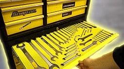 Tools in Yellow Foam
