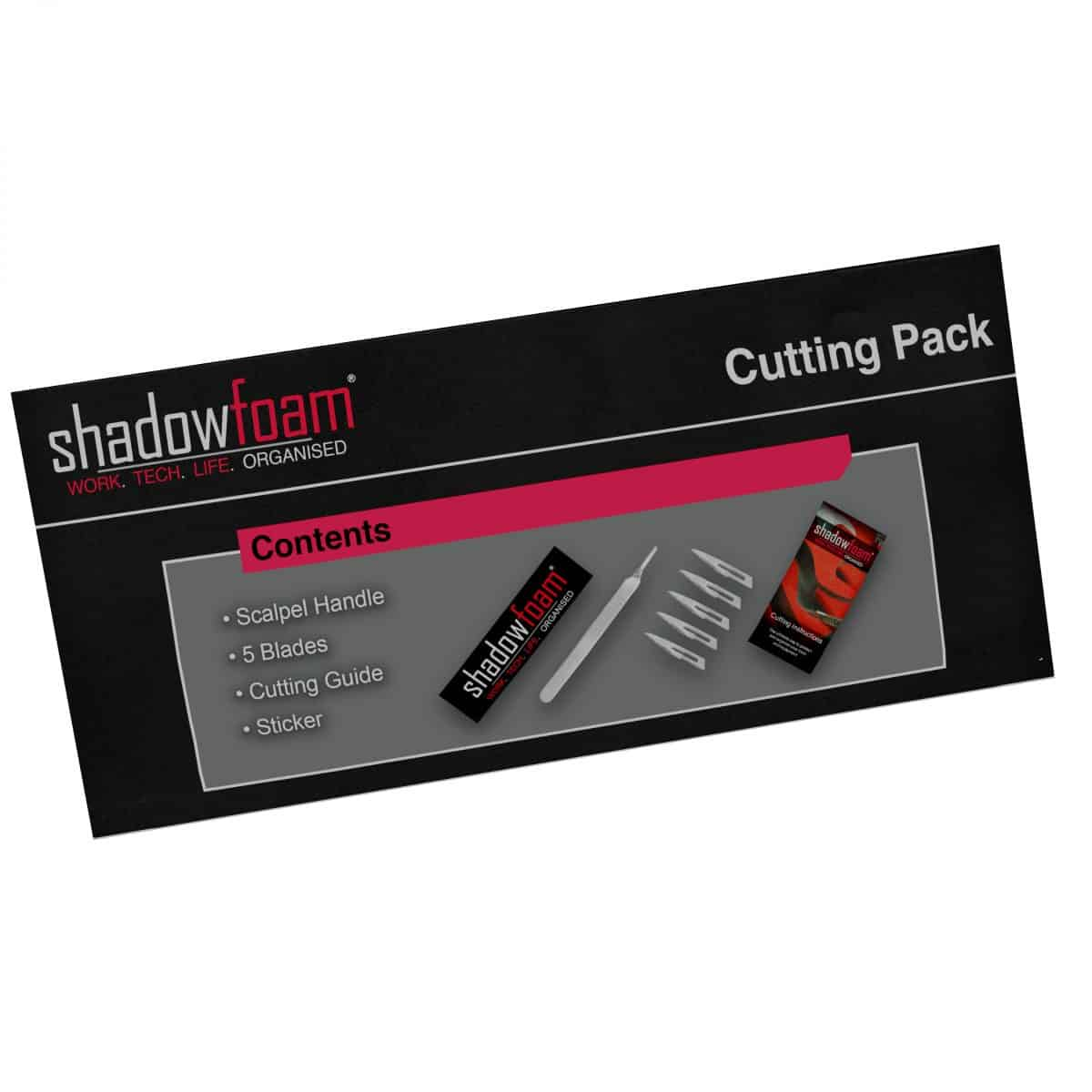Shadow Foam cutting pack