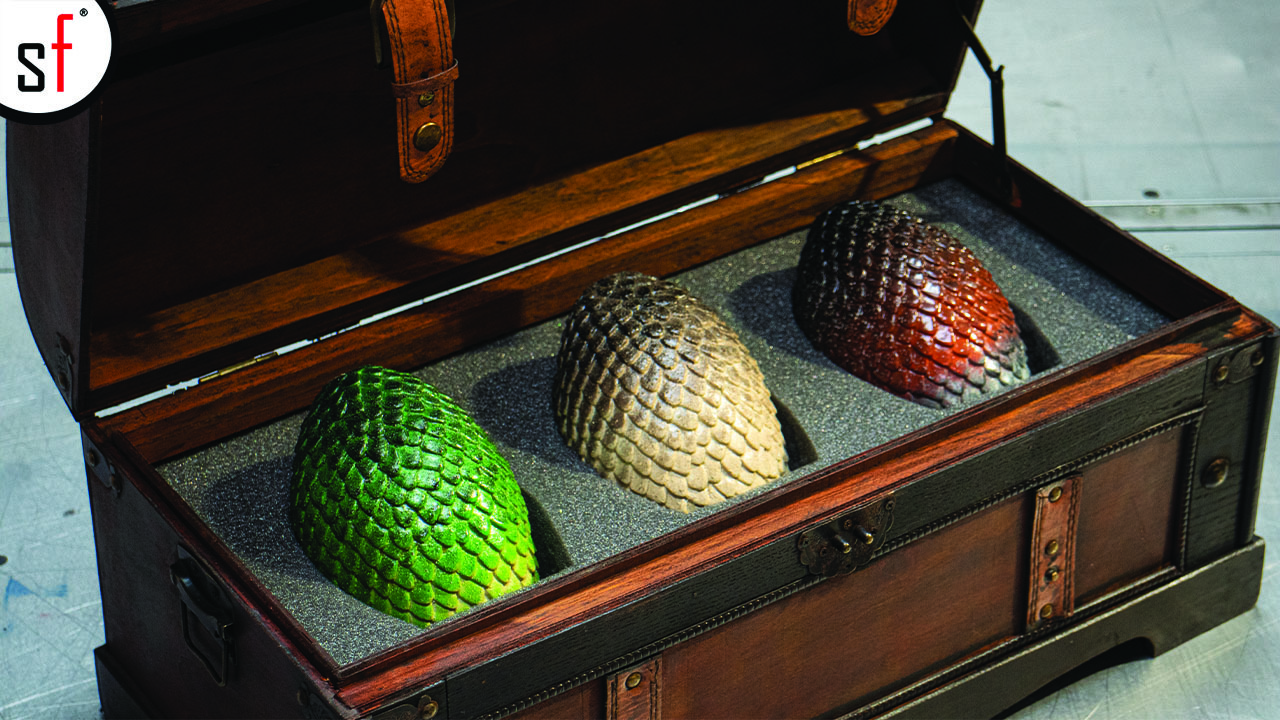 Game of Thrones Dragon Egg Chest