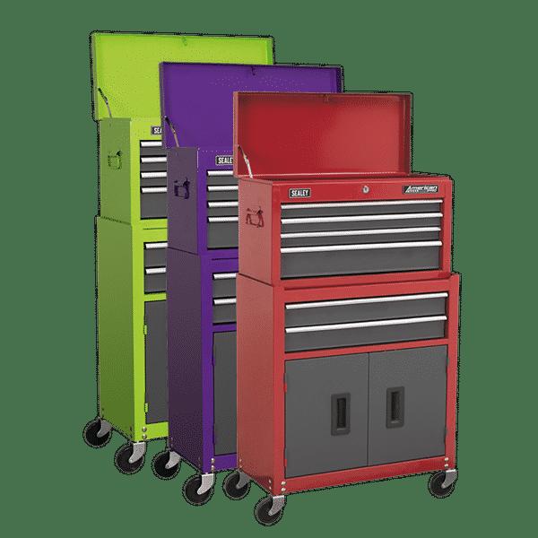 Sealey American PRO® 6 Drawer Rollcab Combination