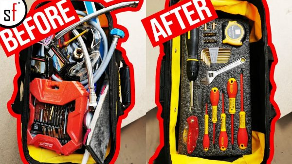 Messy Tool Bad Makeover YouTube Thumbnail